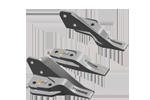 icon komatsu backhoe